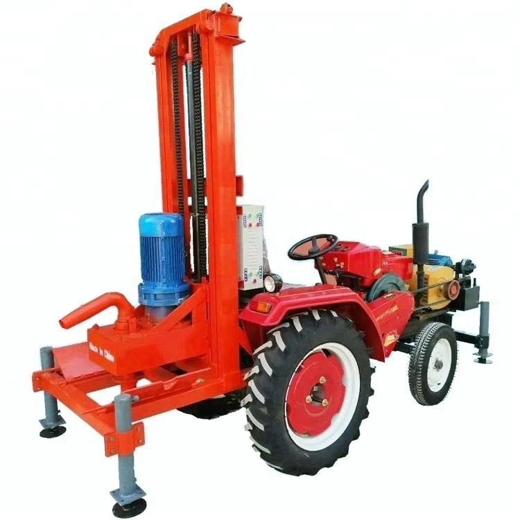 tractor mounted water well drilling machine rig